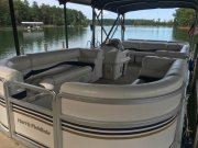 Pre-Owned 2002 Harris Flotebote 220 Super Sunliner Pontoon Power Boat for sale