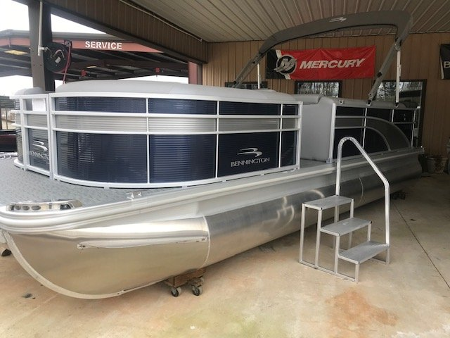 A pontoon boat is constructed from closed cylinders that support a platform. They offer the best value in terms of capacity to price. As a result pontoons are typically purchased for pleasure boating rather than serious fishing.