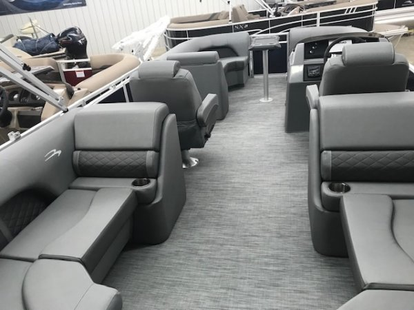 A 22LSR 22 Ft Tritoon is a Power and could be classed as a Pontoon,  or, just an overall Great Boat!